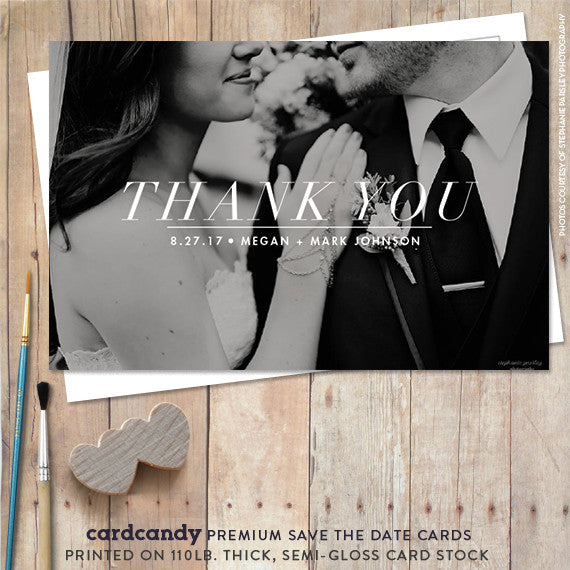 Classic - Thank You Card