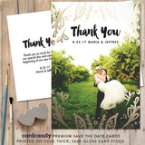 Leaf - Thank You Card