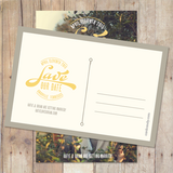 Vintage Circle - Save The Date Card