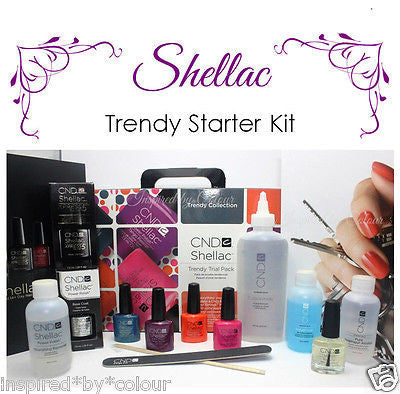 CND Shellac Gel Polish CHIC Trial Pack Kit