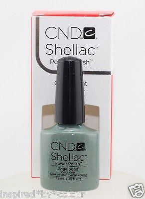 CND Shellac Power Polish x 3 + Scrub Fresh + Nourishing Remover + Foils (SAVE $25) Shades M - Z
