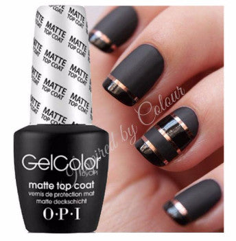 OPI GelColor Soak Off UV/LED Gel Polish~Base Coat &/or Top Coat &/or Matte Top Coat