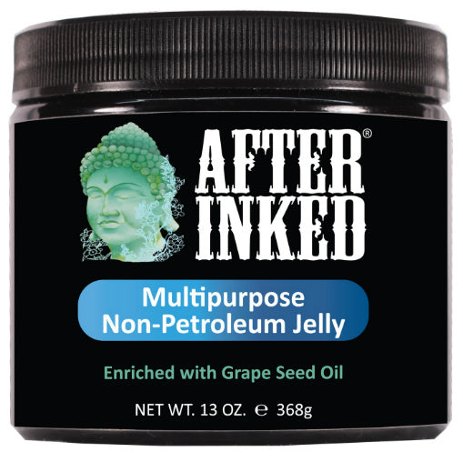 After Inked - Multi-Purpose Non Petroleum Jelly for Tattoos & Piercings 368g