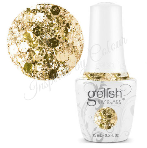 Harmony GELISH® Soak-Off Gel - ALL THAT GLITTERS IS GOLD 15ml