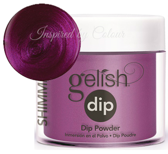 Gelish DIP Powder - Berry Buttoned Up