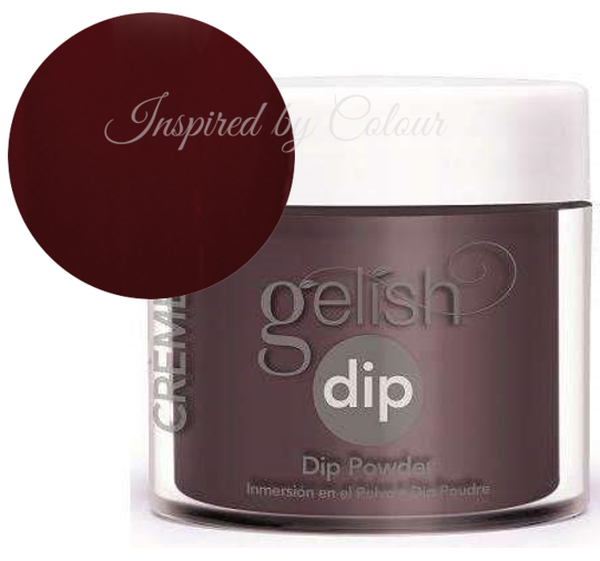 Gelish DIP Powder - Black Cherry Berry