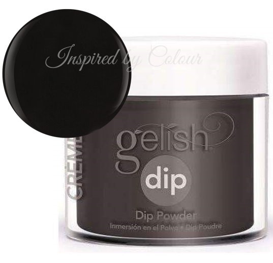 Gelish DIP Powder - Black Shadow