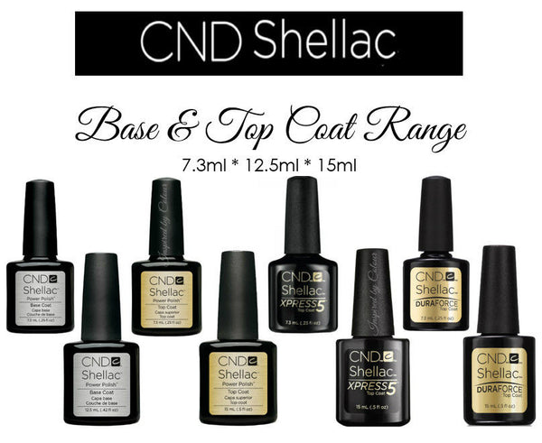 CND Shellac Power Polish ● DURA FORCE TOP COAT ● 7.3ml