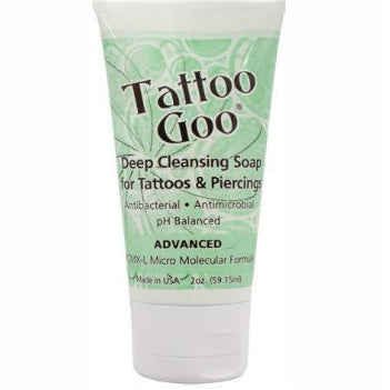 Tattoo Goo - Deep Cleansing Antibacterial Aftercare Soap 59.15ml (2oz)