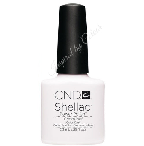 CND Shellac Power Polish ● CREAM PUFF ● 7.3ml