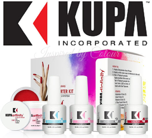 KUPA Dipfinity Complete Dip Powder Starter Kit ● USA Leading Nail eFile Co.