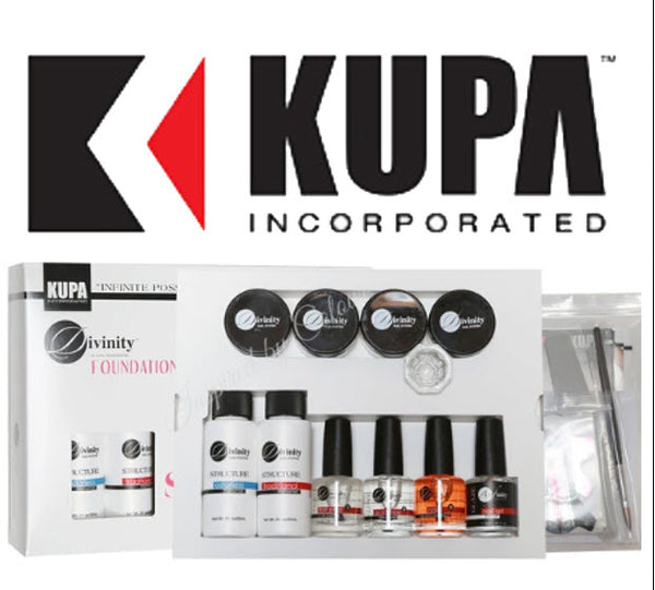 KUPA Divinity Foundation Acrylic Nail Start Kit ● USA Leading Nail eFile Co.