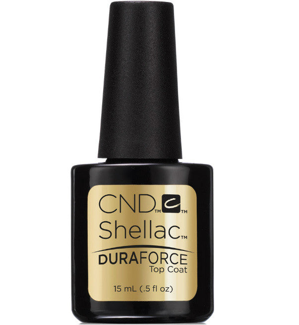 CND Shellac Power Polish ● DURA FORCE TOP COAT ● 15ml