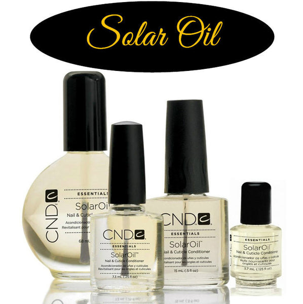 CND Solar Oil Nail & Cuticle Conditioner 3.7ml
