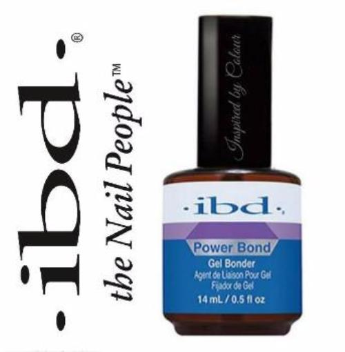 IBD Just Gel *POWER BOND* PH Balance Nail Plate Gel Bonder Dehydrator 14ml