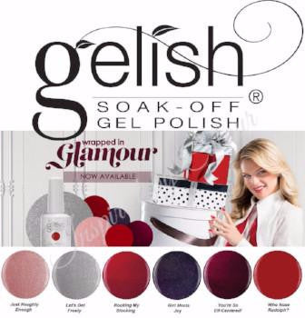 Harmony Gelish ® Soak Off Gel ● Colours from the WRAPPED IN GLAMOUR Collection