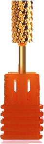 Gold Carbide Nail Drill Bit - XXC (3/32)