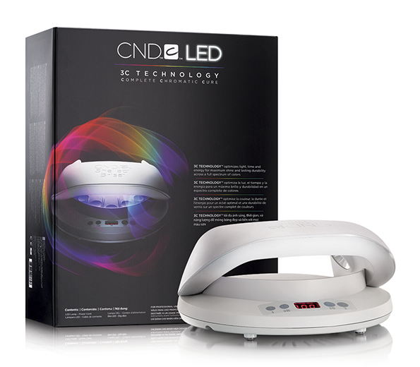 CND LED Professional  Nail Lamp 3C Technology ~ Cures Gel Color