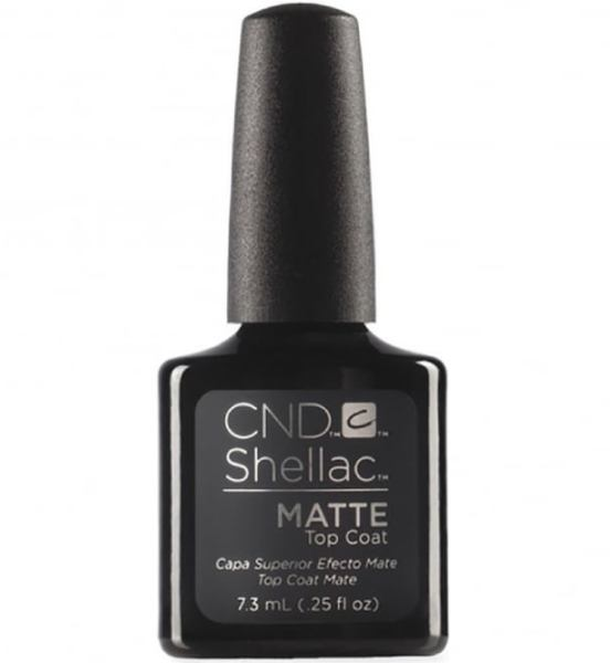 CND Shellac Power Polish ● Matte Top Coat 7.3ml