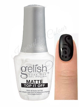 Harmony GELISH® Matte Top it Off - Soak Off Sealer Gel 15ml