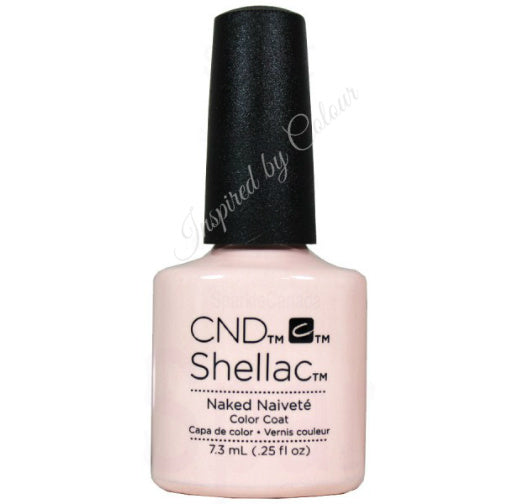 CND Shellac Power Polish ● NAKED NAIVETTÉ ● 7.3ml