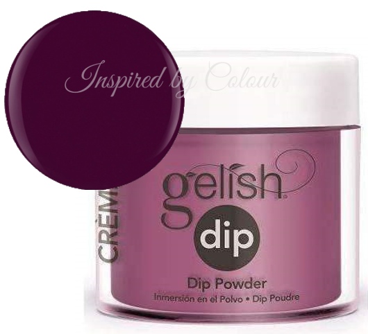 Gelish DIP Powder - Plum And Done