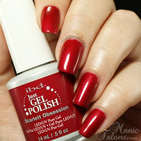 IBD Just Gel Polish - Scarlett Obsession