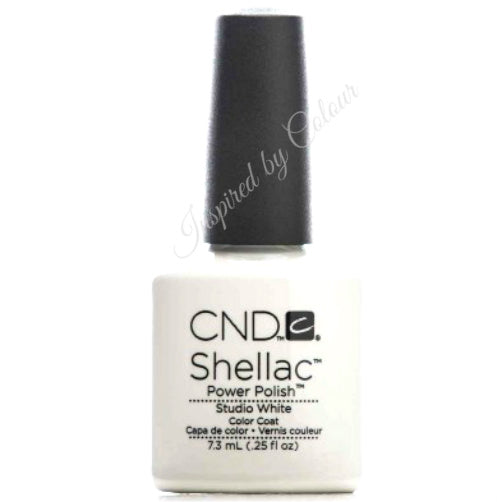 CND Shellac Power Polish ● STUDIO WHITE ● 7.3ml