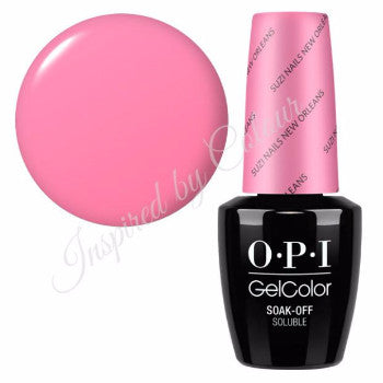 OPI GelColor Soak Off UV/LED Gel Polish ~ Colours from the NEW ORLEANS COLLECTION.
