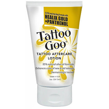 Tattoo Goo - Healix Gold Lotion with Panthenol 59.15ml (2oz)