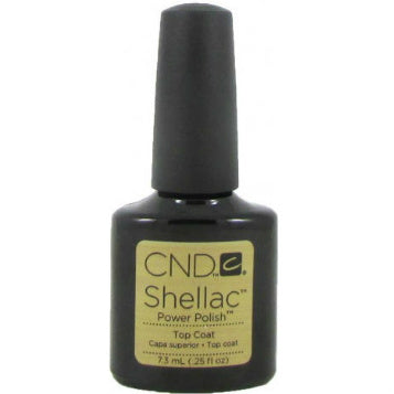 CND Shellac Power Polish ● TOP COAT ● 7.3ml