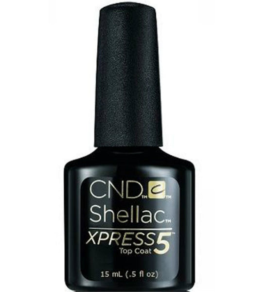 CND Shellac Power Polish ● XPRESS5 TOP COAT ● 15ml