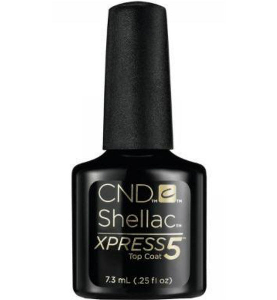 CND Shellac Power Polish ● XPRESS5 TOP COAT ● 7.3ml