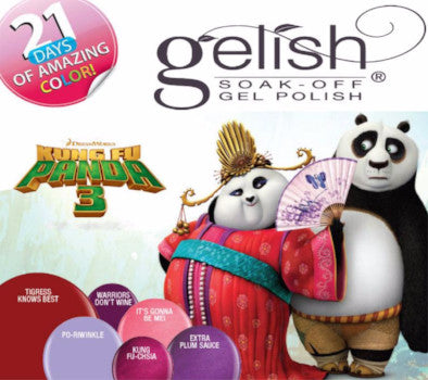 Harmony Gelish ® Soak Off Gel UV/LED●Colours from the KUNG FU PANDA collection