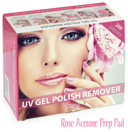SCENTED UV Gel Polish Remover Soak Off Wraps ● Peach ● Rose ● Orange ●Lavender