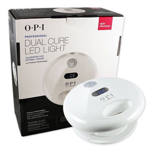 OPI GelColor Professional Dual Cure LED Nail Light /Lamp Dryer ● Cures all Shellac & Gel Products