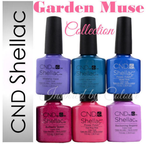 Cnd Shellac Collections Inspired By Colour