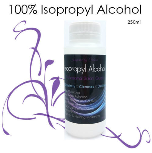 Isopropyl Alcohol 100% Salon Quality - Prep for Shellac, UVGel & Acrylic Nails
