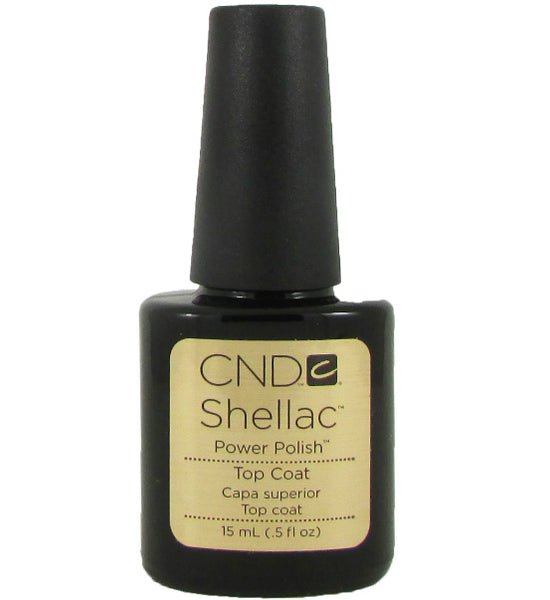 CND Shellac Power Polish ● TOP COAT ● 15ml