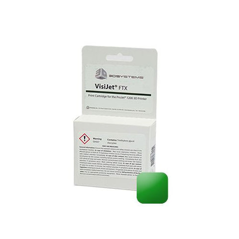3D Systems VisiJet® FTX Green Cartridge (Pack of 10)<br /><br /><small>(Part #: 341301)</small>