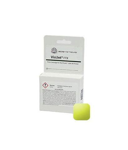 3D Systems VisiJet® FTX Gold Cartridge (Pack of 10)<br /><br /><small>(Part #: 341391)</small>