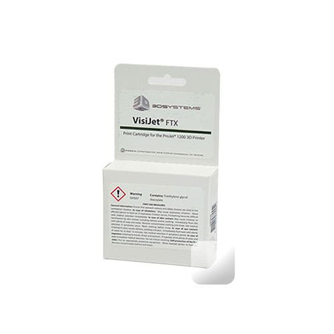3D Systems VisiJet® FTX Clear Cartridge (Pack of 10)<br /><br /><small>(Part #: 341394)</small>