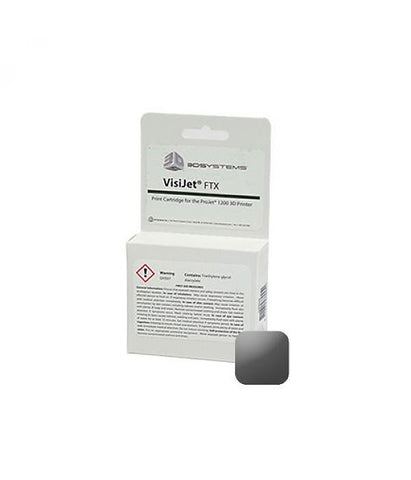 3D Systems VisiJet® FTX Gray Cartridge (Pack of 10)<br /><br /><small>(Part #: 341395)</small>