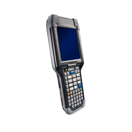 CK75 Mobile Computer~OS: Android 6 Marshmallow (GMS); Scanner: 2D Near/Far Area Imager; Keyboard: AlphaNumeric; Camera: No Camera; Durability: Rugged Standard Temperature; Domain: ETSI (Europe)