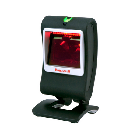 Granit™ 1910i Industrial Scanner~Color: Red; Interface: USB; Range: Extended Range Focus; Scanning Technology: 1D, PDF; Connection: Corded