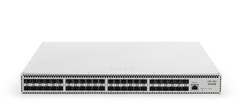 Meraki Cloud-managed 48 port 10 GbE aggregation switch<br /><br /><small>(Part #: MS420-48-HW)</small>