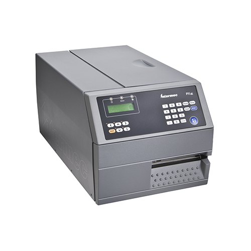 PX4i RFID Industrial Printer~Connectivity: Ethernet; Exit Option: Enhanced Rewind + Label Taken Sensor (LTS); Optional Feature: Real-Time Clock; Print Option: 203 dpi Thermal Transfer