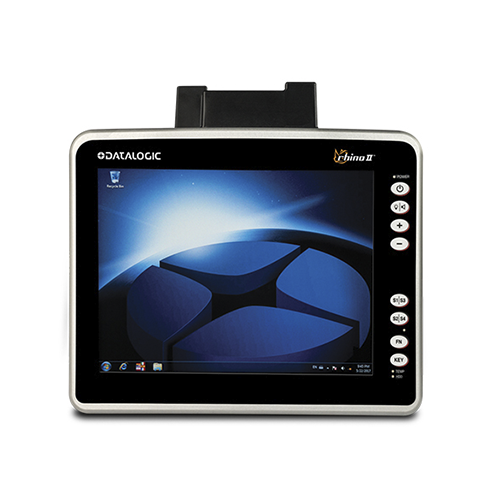 Rhino II Vehicle Mount Computer~Display: 10in. Capacitive/Standard Model; OS: Windows Embedded Compact 7; Voltage: 24-48 VDC