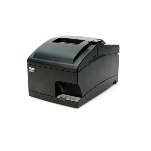 SP742 Kitchen Printer~Exit Option/Optional Features: Tear Bar, Internal Rewinder; Interface Options: Parallel; Optional Features: N/A; Color: Gray; Optional Features: Journal Capability