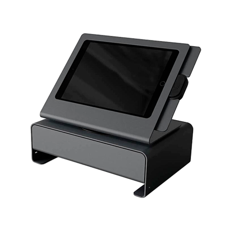 Windfall Checkout Stand~Color: Black Grey; Compatible Devices: iPad mini 1, iPad mini 2, iPad mini 3, iPad mini 4